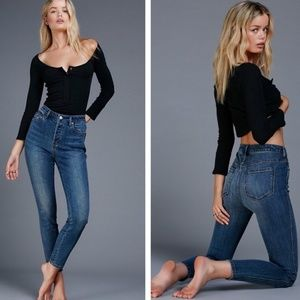 Free People Payton High Rise Skinny Jeans